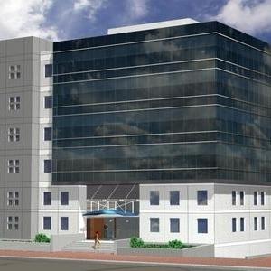 בניין חדש בבניה בקרית אריה